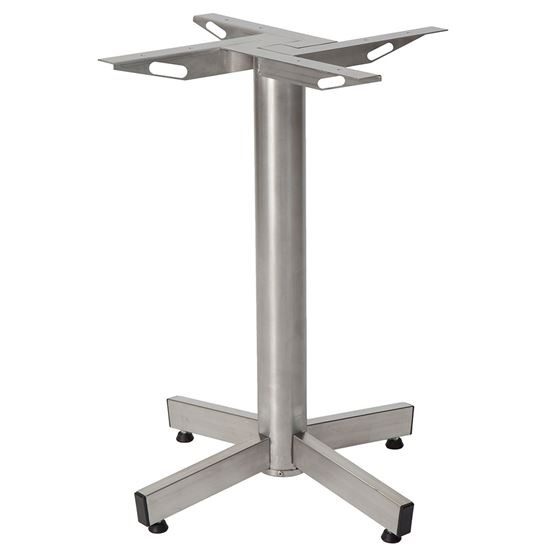 Stable extreme dining table base