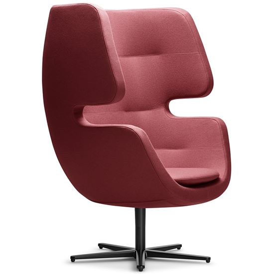 Moai swivel lounge chair