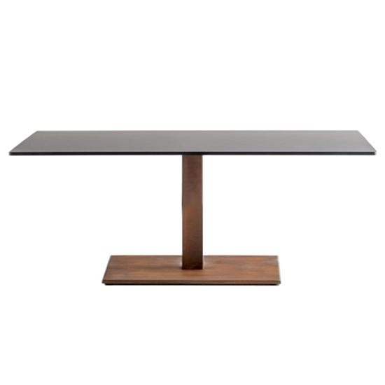 Inox rectangle coffee table base