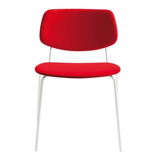 Doll steel side chair