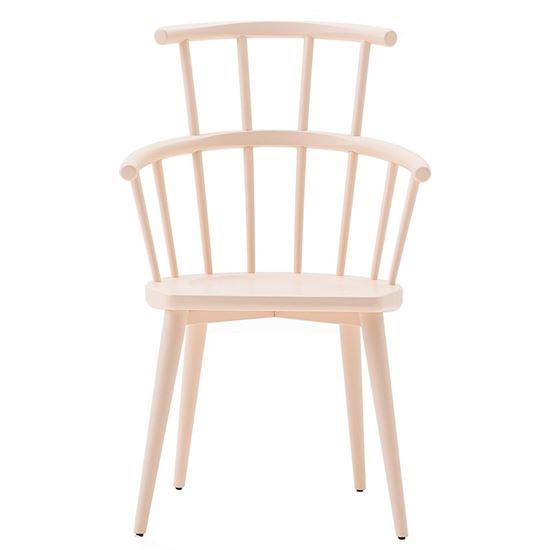 W High back armchair