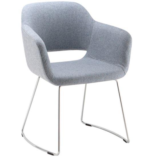 Magda sled armchair