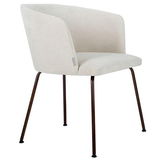 Athena metal armchair