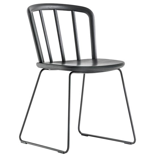 Nym metal side chair