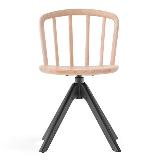 Nym swivel side chair