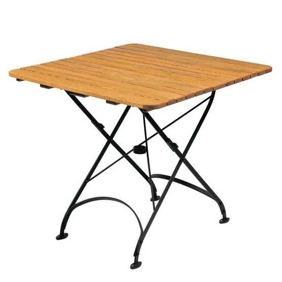 Parade square dining table