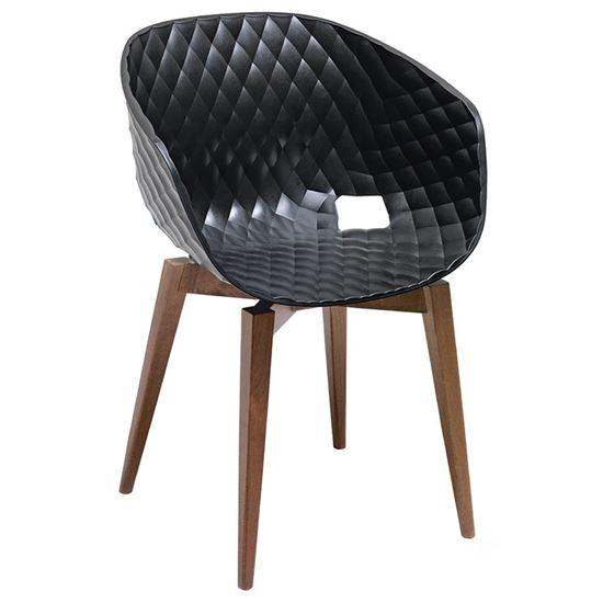 Uni wooden armchair