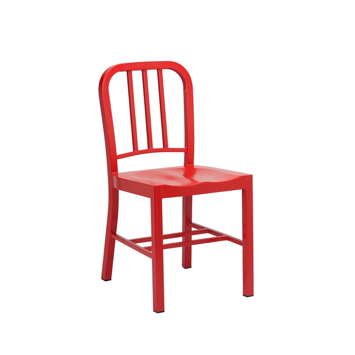 CO2 metal side chair