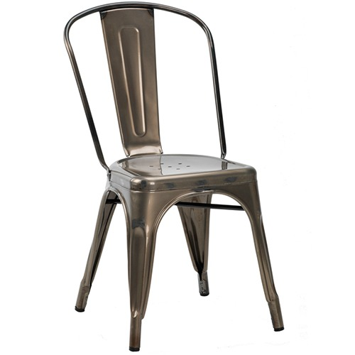 French bistro g side chair