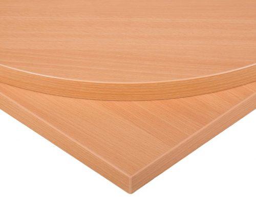 Laminate beech table top