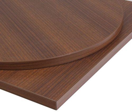 Laminate walnut table top