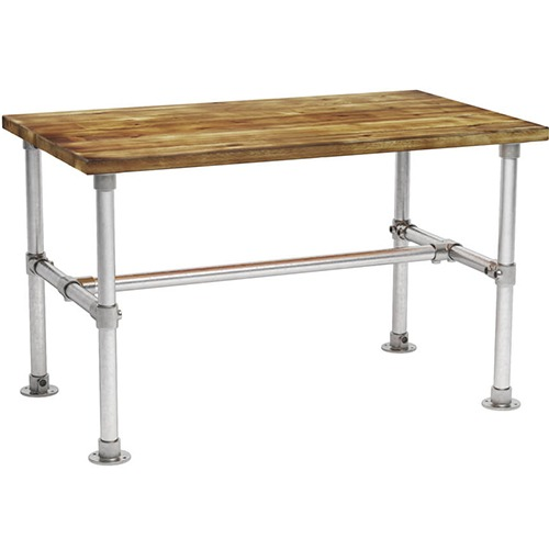 Scaffold rectangle dining table
