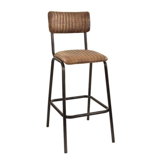 School upholstered barstool