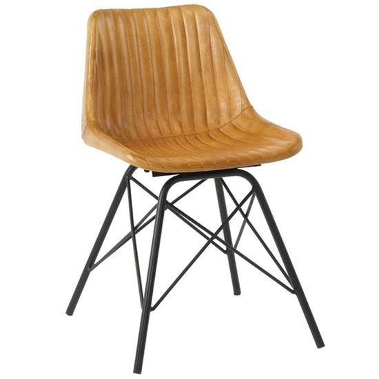 Stitch V side chair