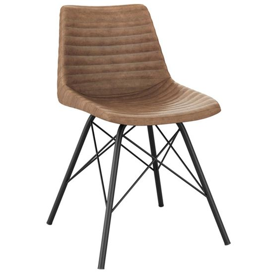 Stitch H side chair
