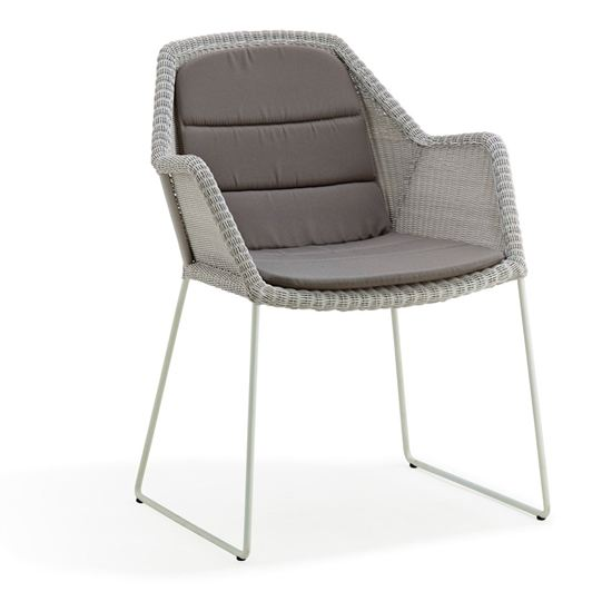 Breeza skid armchair