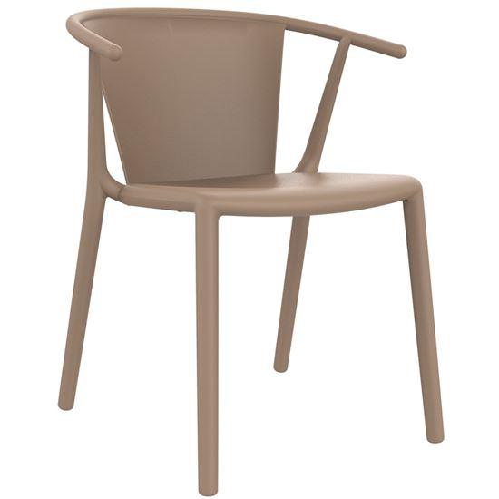 Steely armchair