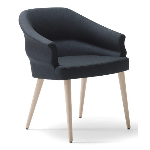 Wavy armchair