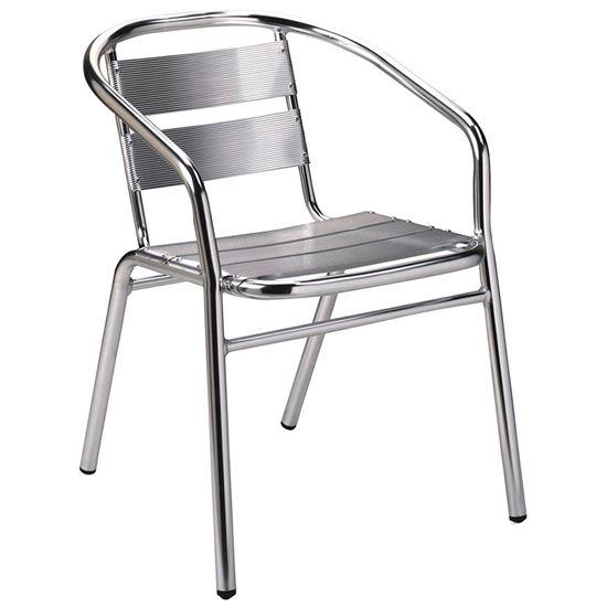 Aluminium-armchair