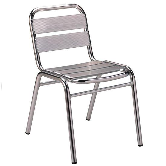 Aluminium sidechair