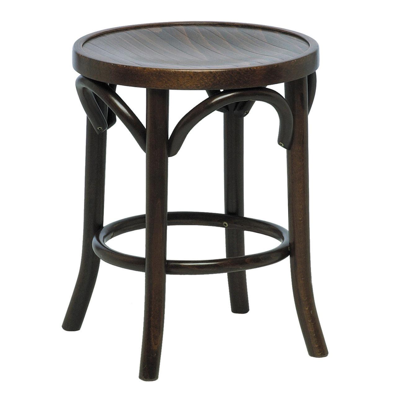 Bentwood low stool