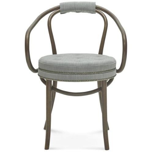 Hoop roll arm chair