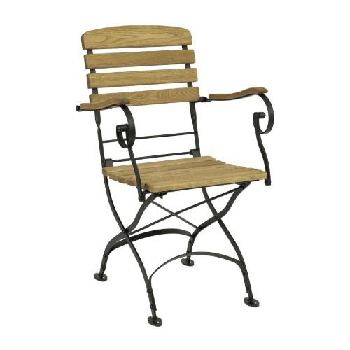 Arch armchair