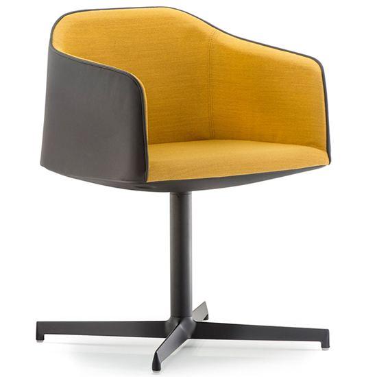 pedrali, laja desk chair, workplace furniture, hotel furniture, armchair, restaurant furniture