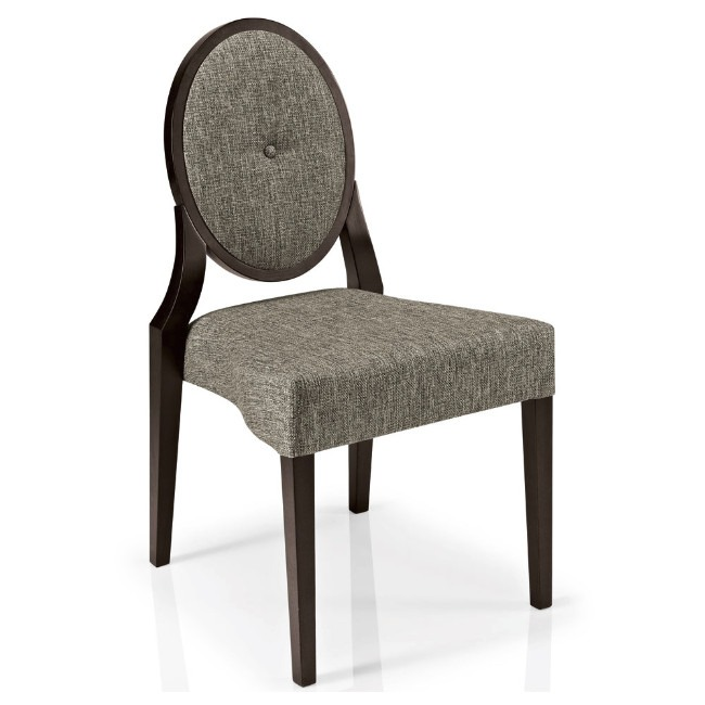 Monalisa stacking side chair