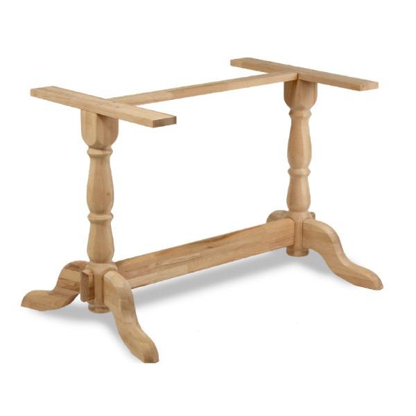 Bark twin table base