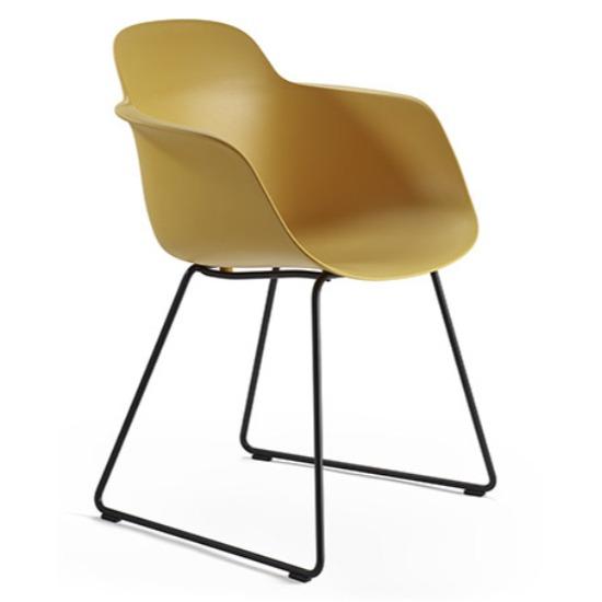 sicla sled armchair, bar furniture, restaurant furniture, hotel furniture, workplace furniture, contract furniture