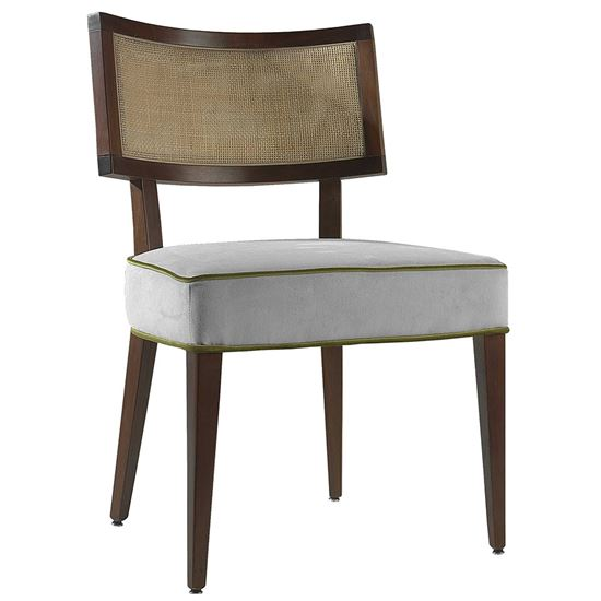 Chicago weave side chair