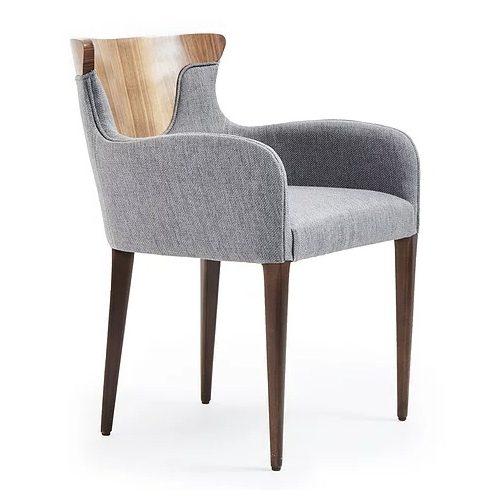 Cross armchair